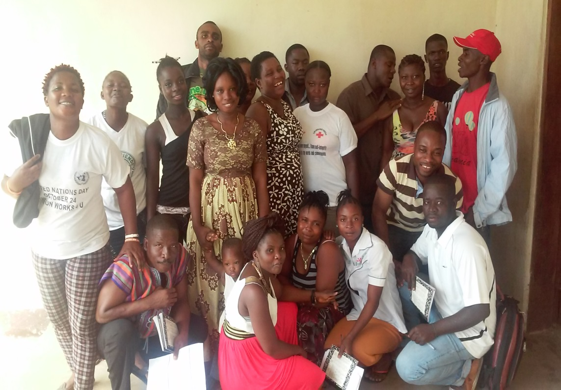 Some participants of the three days capacity building training in Gbarpolu County
